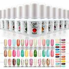 60 Colors select 15ml  Varnish Glitter NailArt UV Gel Soak Off Polish Gelish Tip