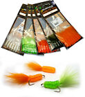 MARABOU WAGGLER GRUBS Marabou Tailed Silicon Grub Bodies DEADLY for Fly Fishing