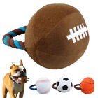 Didog Interactive Sports Plush Ball Squeaker Dog Toys For Dogs Soccer Football