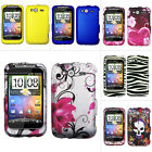 For T-Mobile HTC Wildfire S / Marvel Metro PCS Colorful Design Hard Case Cover