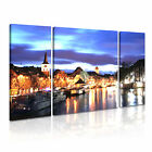 Holland 4 Europe Cityscape 3B Framed Print Canvas Wall Art~ 3 Panels