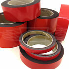 RED MAGNETIC PALLET / DEXION / RACKING SHELVING WIPE CLEAR MAGNETIC TAPE