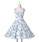 HOT FOR XMAS DISCOUNT~1 NEW RETRO STYLE 50s 60s ROCKABILLY SWING VINTAGE DRESS