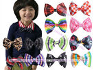 Boys Children Fashion Multicolor Unique Bowtie Formal Party Adjust Bow Tie
