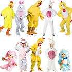 Easter Bunny Rabbit Chick New Fancy Dress Animal Costume Outfit Kids Ladies Mens