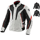 REV IT VAPOR WATERPROOF MOTORCYCLE TEXTILE SPORT MOTORBIKE REVIT RACE JACKET