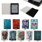 New Colorful PU Leather Slim Flip Case Cover For Amazon Kindle Paperwhite 1 2&3G