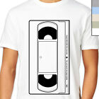 VHS TAPE T-Shirt. Old Skool Video Film Player, Retro Movie Fan