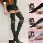 Flossy Womens Sexy Long Over The Knee Thigh High Cotton Socks Stockings Pop UKMW