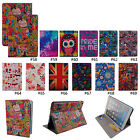 Color Cute PU Leather Flip Card Slot Stand Full Body Case Cover For iPad Air 2