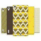 HEAD CASE DESIGNS BUSY BEE PATTERNS CASE COVER FOR HUAWEI ASCEND P7 LTE