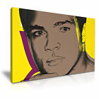Muhammad Ali ~ Andy Warhol Wall Art Canvas Print Framed Box ~ 1pc