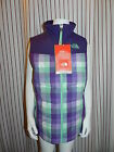 NWT The North Face Dandie Down Vest Girl's Sz MED,L,XL Green