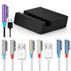 Magnetic USB W/LED Cable + Desktop Dock for Sony Xperia Z3 / Z3 Compact Durable