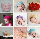 Photography Boy Girl Baby Crown Hat 4 Colors Newborn Photo Prop Hot