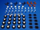 100+ Bulk Lego Pieces STEERING WHEELS Axles TIRES 110 Parts For Cars / Vehicles