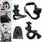 EEEkit Accessories Kit for Sony Action Cam Helmet/Handlebar/Car Sun Visor Mount