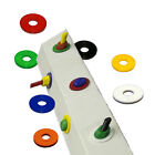 Penny Washers - Nylon M8 (8mm Internal Diameter) Colour Options Available.