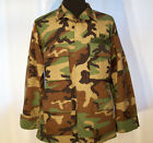 Official US MILITARY Hot Weather COMBAT COAT Woodland Camo Medium CAMOUFLAGE