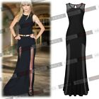 New Long Sexy Lace Evening Party Ball Prom Gown Formal Bridesmaid Cocktail Dress