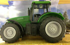 TEAMSTERZ TOY FARM TRACTOR - GREEN,  RED,  BLUE push along farmyard tractor 1:32