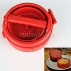 Kitchen Gadget DIY Hamburger Meat Pie/Meatloaf/Cutlet/Filling Maker Presses Cook