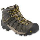 Keen Outdoor Mens VOYAGEUR MID Raven/TawnyOlive Leather/Mesh Trail Boots 1008904