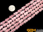 Natural Fruit Rose Quartz Beads Jewelry Making loose gemstone beads strand 15""