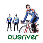 Men Bike Bicycle Cycling Anti UV Long Sleeve Clothes Jersey Pants 3D Padded Suit
