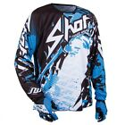 BLUE SHOT DEVO LOAD MX MOTOCROSS ENDURO ATV QUAD BIKE SHIRT JERSEY