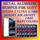 ALUMINUM BUMPER METAL CASE for SONY XPERIA Z ULTRA 0.7MM AIR JACKET COVER FRAME
