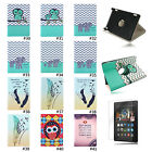 Cute 360°Rotating Stand Flip Case Cover For Amazon Kindle Fire HD 7 2014 4th Gen