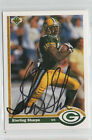 Sterling Sharpe 1991 Upper Deck signed autographed card Green Bay Packers