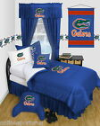 Florida Gators Bed in a Bag Valance Twin Full Queen Comforter Set