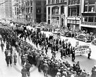 1934 Worker's May Day Parade New York Photo 5th Ave