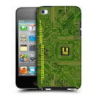 HEAD CASE DESIGNS CIRCUIT BOARDS HARD BACK CASE FOR APPLE iPOD TOUCH 4G 4TH GEN
