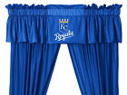 Kansas City Royals Curtain and Valance Set with Tie Backs