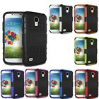 New Hybrid Armor Rugged Hard Case Cover Skin For Samsung Galaxy S4 i9500 Trendy