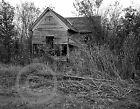 1979 Photo of Woodie Guthrie Childhood Home Oklahoma