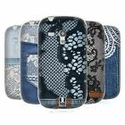 HEAD CASE JEANS AND LACES SILICONE GEL CASE FOR SAMSUNG GALAXY S3 III MINI I8190