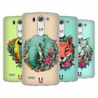 HEAD CASE FLORA AND FAUNA SILICONE GEL CASE FOR LG G3 BEAT D722K