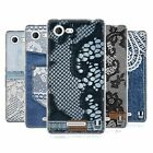 HEAD CASE JEANS AND LACES SILICONE GEL CASE FOR SONY XPERIA E3 D2202