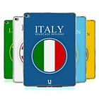 HEAD CASE FLAG PATCHES SET 2 SILICONE GEL CASE FOR APPLE iPAD AIR 2