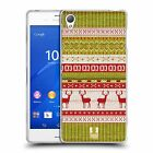 HEAD CASE KNITTED CHRISTMAS SILICONE GEL CASE FOR SONY XPERIA Z3