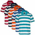 BOYS STRIPY POLO SHIRT KIDS SHORT SLEEVE SUMMER PIQUE T-SHIRT TOP SIZE 3-14 YEAR