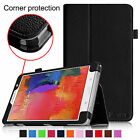 Folio Leather Case Cover Wake/Sleep for Samsung Galaxy Tab Pro 8.4 Inch Tablet