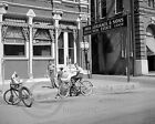 1943 Newspaper Boys on Bicycles Galveston Houston Chronicle Photo