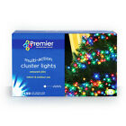 LED CLUSTER LIGHTING - MULTI ACTION CHRISTMAS TREE LIGHTS - INDOOR / OUTDOOR