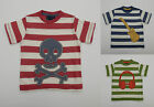 BODEN BOYS APPLIQUE TOP TEE SHIRT COTTON SKULL,GUITAR,HEADPHONES AGES 1-8 BNWOT