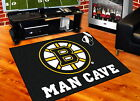 Boston Bruins Man Cave Area Rugs 3 Sizes